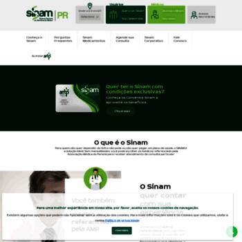 Sinam-pr.com.br thumbnail