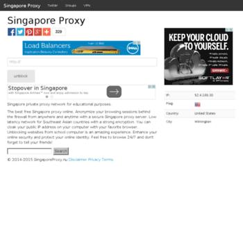Singaporeproxy.nu thumbnail