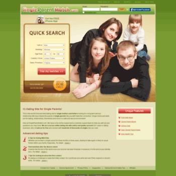 Single mums og dads dating site