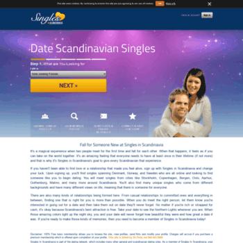Scandinavian online dating