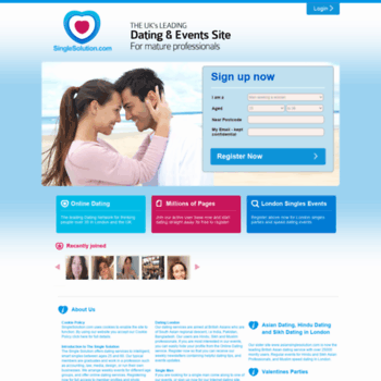 Dating websites professionals UK