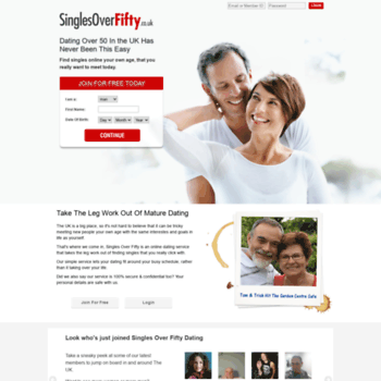 Over fifty dating co uk
