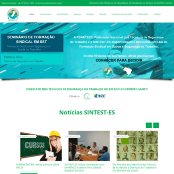 Sintestes.org.br thumbnail