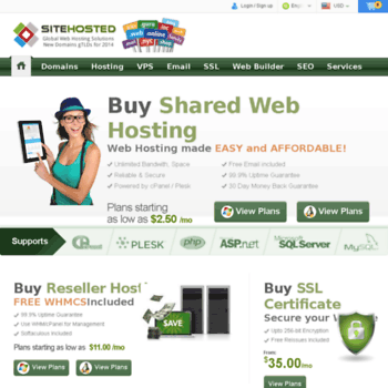 Sitehosted.net thumbnail