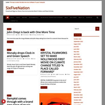 Sixfivenation.net thumbnail