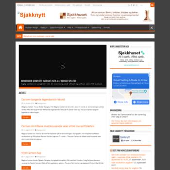 Sjakknytt.no thumbnail