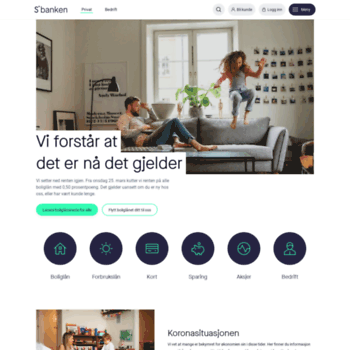 Skandiabanken.no thumbnail