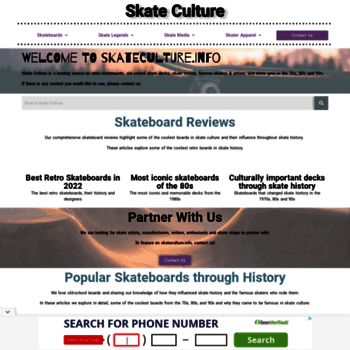 Skateculture.info thumbnail