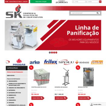 Skequipamentos.com.br thumbnail