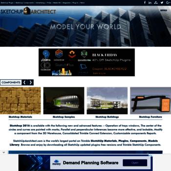 sketchup4architect com at WI  Sketchup, Sketchup Plugins