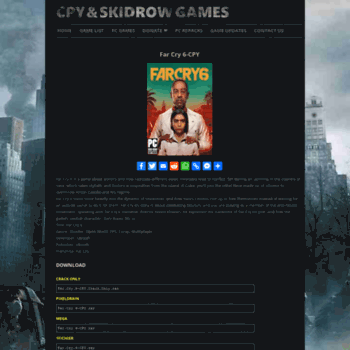 cpy games official site