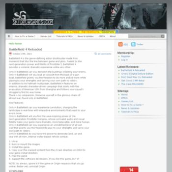 skidrow crack games download free
