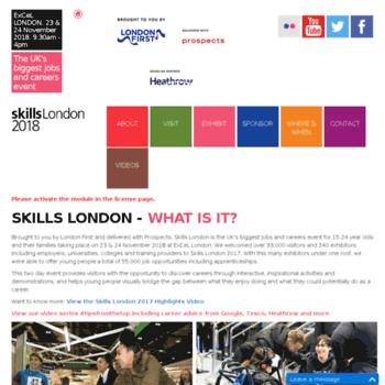 Skillslondon2016.co.uk thumbnail
