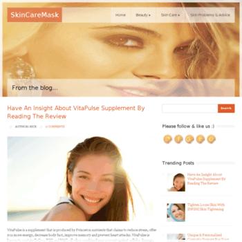 Skincaremask.net thumbnail