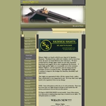 skinnersights com at WI  Marlin peep sights
