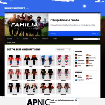 skins4minecraft com at WI  Minecraft Skins – Download Skins for