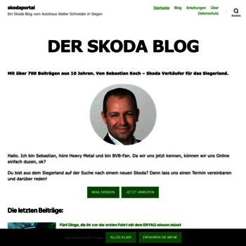 skoda-portal de at WI  skodaportal