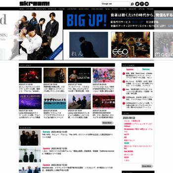 Skream.jp thumbnail