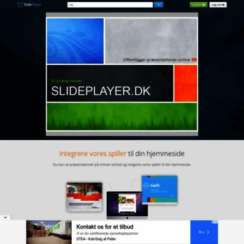Slideplayer.dk thumbnail