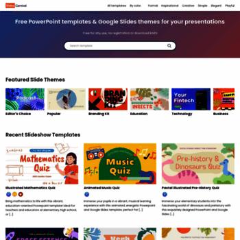 Slidescarnival Com At Wi Slidescarnival Free Ppt Templates