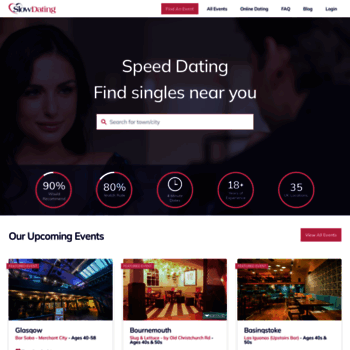 Speed dating london over 21