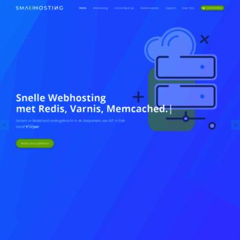 Smallhosting.nl thumbnail