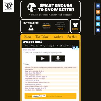 Smartenough.org thumbnail