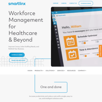 smartlinxsolutions com at WI  SmartLinx - Workforce