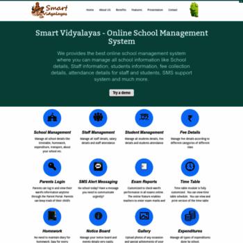 smartvidyalayas com at WI  Smart Vidyalayas - Online School