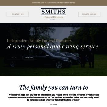 Smithsfuneraldirectors.co.uk thumbnail