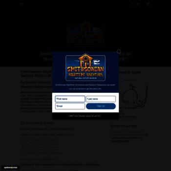 Smithsoniansleepovers.org thumbnail