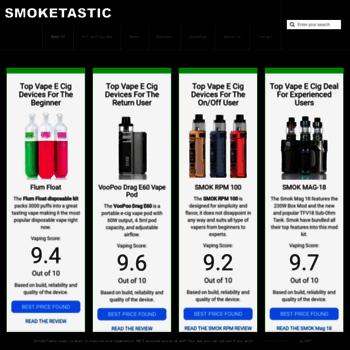 Smoketastic.com thumbnail