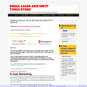 smtpemailtoolstore info at WI  Welcome to Your Email and SMTP Store