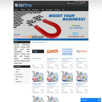 smtper com at WI  Unlimited SMTP | Unlimited Webmail Server | Email
