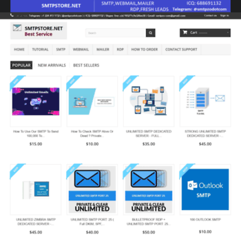 smtpstore net at WI  SMTP,WEBMAIL,MAILER,RDP LEADS,TOOLS FOR