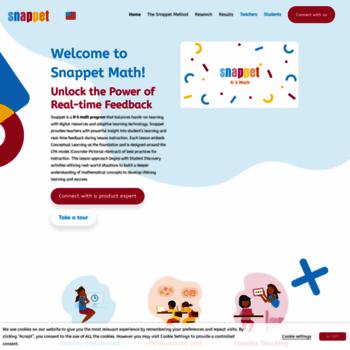 snappet at wi. home - snappet - het adaptieve onderwijsplatform