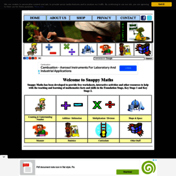 Snappymaths At Wi Snappy Maths Free Worksheets And