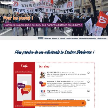 Snetaa-bordeaux.fr thumbnail