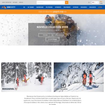 Snowcountry.fr thumbnail