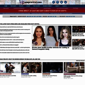 Soapcentral.com thumbnail