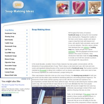 Soapmakingideas.net thumbnail