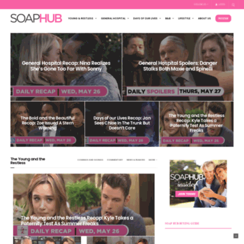 Soapshows.com thumbnail