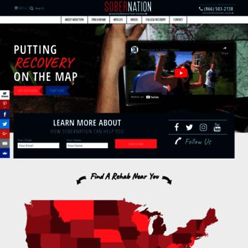 Sobernation.com thumbnail