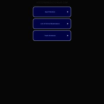 soccerpredictions88 com at WI  SoccerPredictions88  Free Soccer