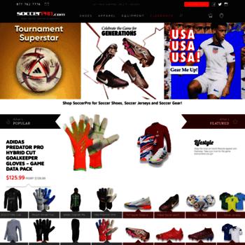 soccerpro.com at WI. SoccerPro.com - Shop for Soccer Cleats db0f9c995
