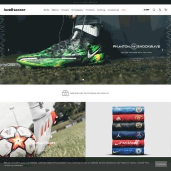 soccerscene.co.uk at WI. Lovell Soccer - Football Boots