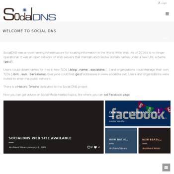 Socialdns.net thumbnail