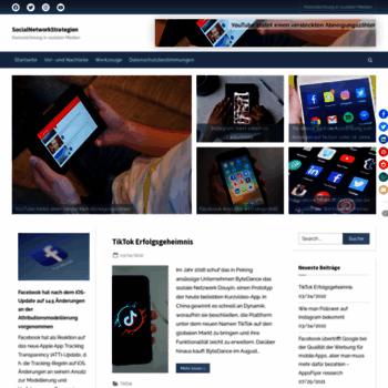 Socialnetworkstrategien.de thumbnail