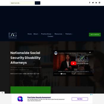 Socialsecuritylawcenter.info thumbnail