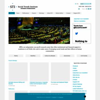 Socialtrendsinstitute.org thumbnail